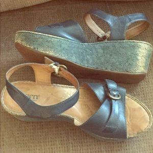 Born platform sandals